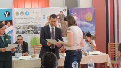 2016-ban Perényi Alexa Friderika, a Körös-Maros Nemzeti Park Igazgatóság jelöltje különdíjat kapott az Ifjú Kócsagőr-program országos döntőjében.