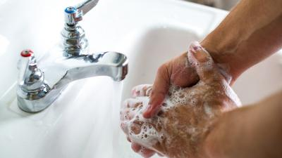 A new study by Michigan State University researchers found that only 5 percent of people who used the bathroom washed their hands long enough to kill the germs that can cause infections.