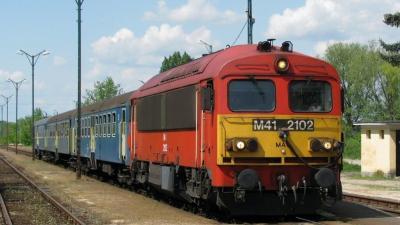 Vonat - Fotó: behir.hu