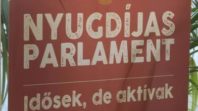 MSZP nyugdíjas parlament