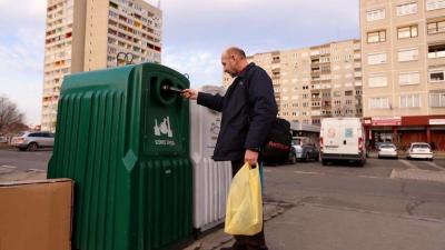 Szelektív hulladékgyűjtés. Forrás: Magyar Idők/Bach Máté