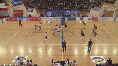 Helytállt a Jászberény, de a BRSE  magabiztosan nyerte az elődöntő első meccsét (Fotó: Tóth Áron)
