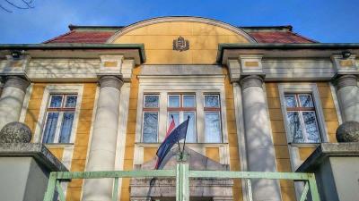 A Békéscsabai Járásbíróság épülete. Archív fotó: V.D.