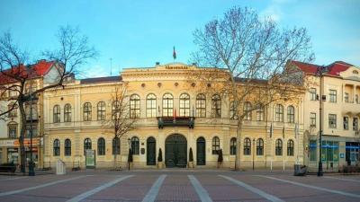 Békéscsaba, városháza. Fotó: behir.hu
