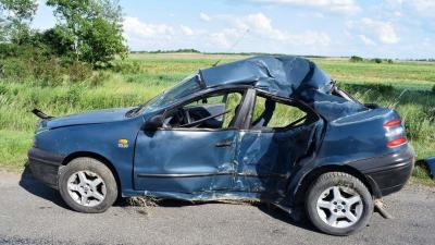 Súlyos sérültje volt a gyulai balesetnek. Fotó forrás: police.hu