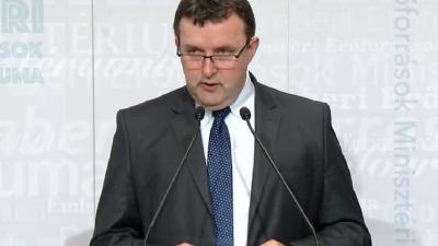 Palkovics László, az Emberi Erőforrások Minisztérium oktatási államtitkára. Fotó forrás: kormany.hu