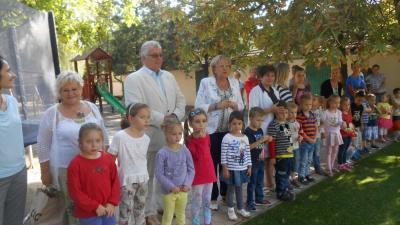 Dr. Ferenczi Attila gyakori vendég a körzet intézményeiben