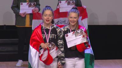 A bronzérmes csabai páros (Fotó: Kerekes Judit)