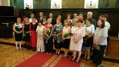 A pedagógusokat köszöntötték a városháza dísztermében (Fotó: Kugyelka Attila)