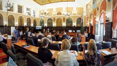 A júniusi ülés látképe (Fotó: VD)