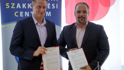 Együttműködési megállapodás a Budapest Bank  és a BSZC között