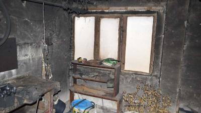 A kiégett csanádapácai ház. Forrás: police.hu