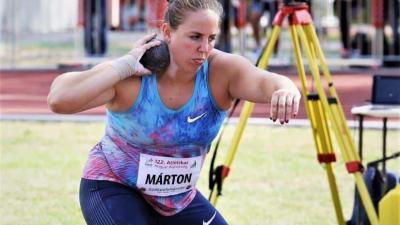 Márton Anita ezúttal két számban áll rajthoz (Fotó: atletika.hu)