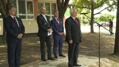 45 év után megújult épületben kezdhetik a tanévet a békéscsabai kollégisták - Hőszigetelés, nyílászárócsere 137 és fél millió forintból. Fotó: Kovács Dénes