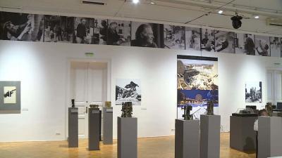 Hosszabbítás: szeptember 24-ig látogatható a világhírű Pátkay Ervin kiállítása Fotó: Ujházi György