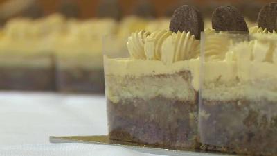 Népszerű volt az idei Munkácsy torta. Fotó: Kugyelka Attila