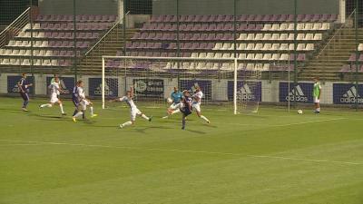 Szatmári István szerezte az első gólt az őszi meccsen (Fotó: Tóth Áron)