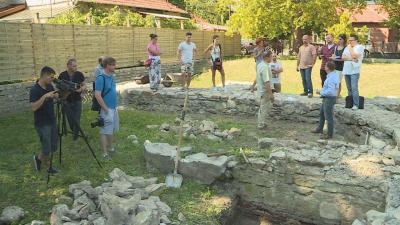 Az 1420 és 1566 között működött ferences templom szentélyének rekonstrukciójára és a szükséges régészeti ásatásokra 6 millió forintot biztosít a gyulai önkormányzat. Fotó: Tóth Áron