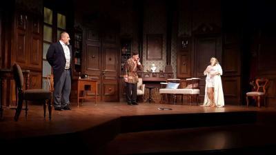 Pénteken lesz a Törvénytelen randevú című komédia premierje a Békéscsabai Jókai Színház nagyszínpadán. Fotó: Kovács Dénes