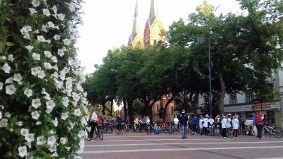 Békéscsaba kerékpárosbarát település