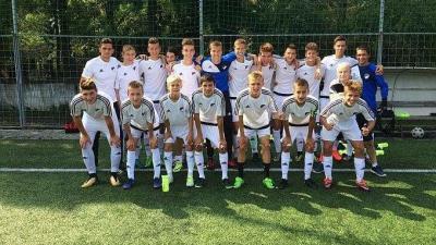 Az U16-os csapat 3-1-re győzött (Fotó: Békéscsaba Labdarúgó Akadémia)