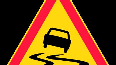 Vigyázz, csúszik! Forrás: commons.wikimedia.org