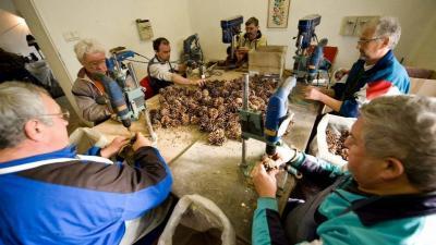 Megváltozott munkaképességűek. Archív fotó: MTI/Rosta Tibor