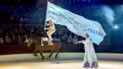 December 11-én tartottak sajtótájékoztatót a Fővárosi Nagycirkuszban a 2018-as Budapest Nemzetközi Cirkuszfesztiválról. Fotó: Urbán Ádám