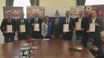 Hat gyulai cég kapta meg a MagyarBrands 2017 díjat. Fotó: Kugyelka Attila