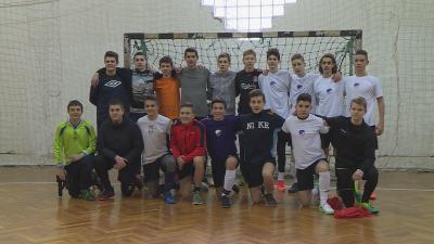 A Jankay iskola legjobbjai edzőmérkőzéssel is készültek az országos döntőre (Fotó: Kovács Dénes)