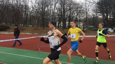 Gregor László (jobb szélen) harmadik helyen végzett Belgrádban (Fotó: Kopp Békéscsabai Atlétikai Club)