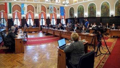 Ülésezik a békéscsabai képviselő-testület 2018.február 21-én. Fotó: Bucsai Ákos