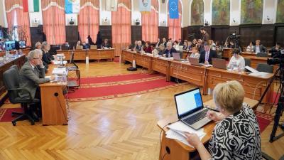 A békéscsabai közgyűlés ülése 2018.03.22-én. Fotó: Kovács Dénes