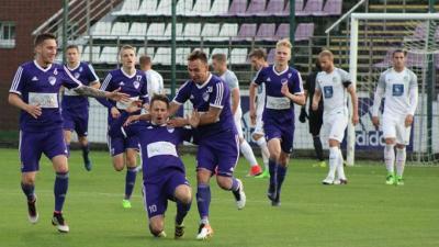 Ősszel Nagy István szerezte az első csabai gólt (Fotó: Békéscsaba 1912 Előre)