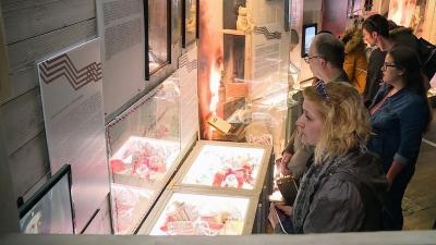 A Többes számban című  kiállítás Békéscsabán. Fotó: Bucsai Ákos