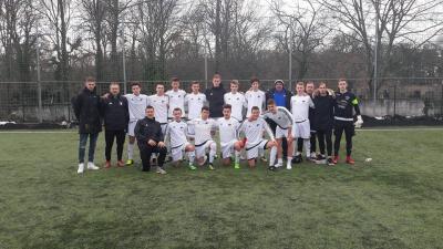 Az U19-es csapat  Fotók: Békéscsaba Labdarúgó Akadémia
