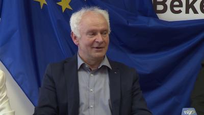 A békéscsabai központú választókerületben Herczeg Tamás győzött (Fotó: Fazekas Róbert)