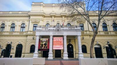 A Békéscsabai Jókai Színház. Fotó: VD