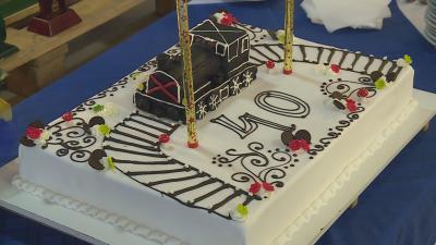 Fennállásának negyvenedik évét ünnepelte pénteken a Kandó Kálmán Vasútmodellező Klub. Fotó: Barna Tamás