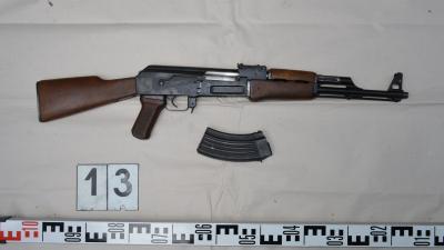 Az egyik Nagyszénáson lefoglalt fegyver. Fotó: police.hu