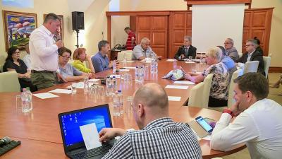 Soron kívül ülésezett a békéscsabai képviselő-testület 2018.05.09.-én. Fotó: Ujházi György