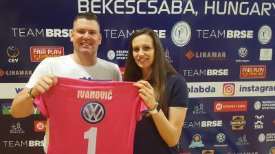 Baran Ádám és Ksenija Ivanovic. Fotó: egyesület