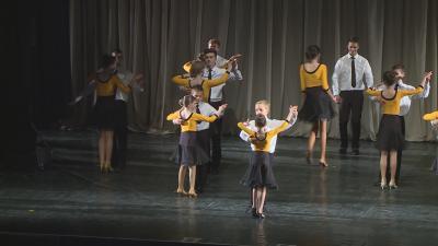 A IX. Békéscsabai Táncfesztivál egyik csúcspontja a hétfő esti táncgála volt. Fotó: Barna Tamás
