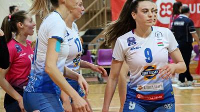Lucija Mlinar (9-es mezben) jövőre is a csabai sikerekért küzd (Fotó: Milyó Pál)