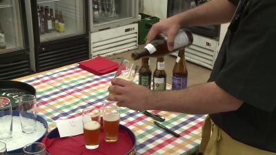Sorszámozva értékelték a söröket a zsűri tagjai (fotó: Ujházi György)