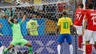 Brazília javítana a Svájc elleni ikszet követően (Fotó: AFP)