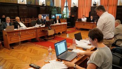 Képviselő-testületi ülés Békéscsabán  2018.06.21.-én. Fotó: Tóth Áron