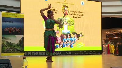 A Bharatnatyam tánc. Fotó: Bucsai Ákos