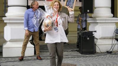 A közönségdíjat a MárkusZínház: Az égigérő fa című előadása nyerte. Fotó: V.D.