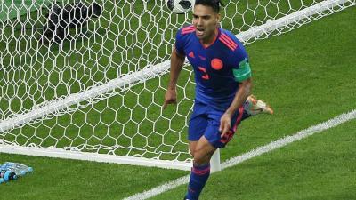 Falcao első világbajnoki gólját szerezte (Fotó: AFP)